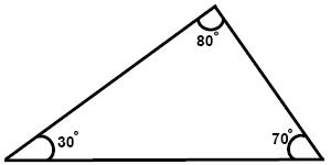 Obtuse angled triangle